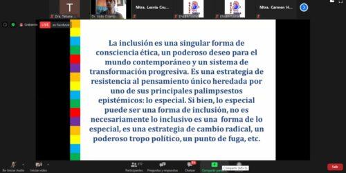 Aldo Ocampo González_Confrencia_Nomdaismo epistemologico de la educación inclusiva_ TUXTLA_MEXICO_CELEI