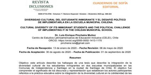 Interculturalidad_Chile_Luis Pincheira Muñoz_CELEI
